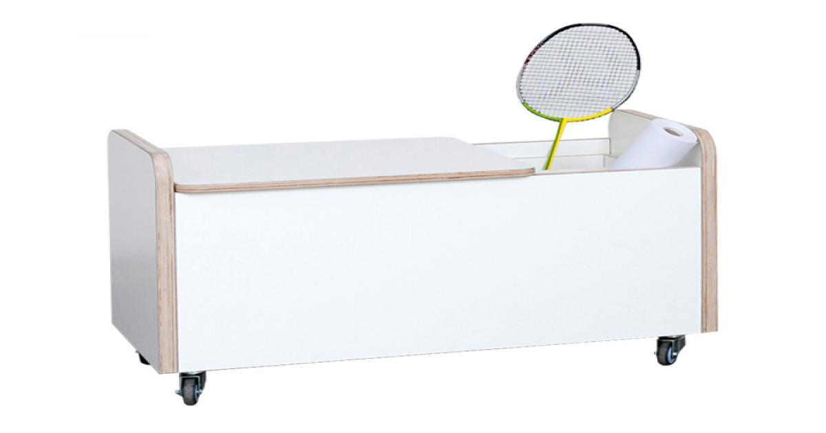 rolling box truhe mit deckel kurz von pure position stilbegeistert. Black Bedroom Furniture Sets. Home Design Ideas