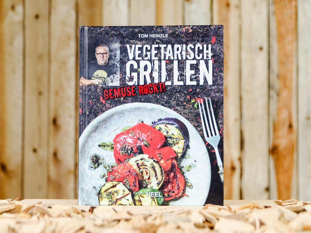 vegetarisch grillen von tom heinzle heel grill und kochbuch grillfeuer bbq. Black Bedroom Furniture Sets. Home Design Ideas