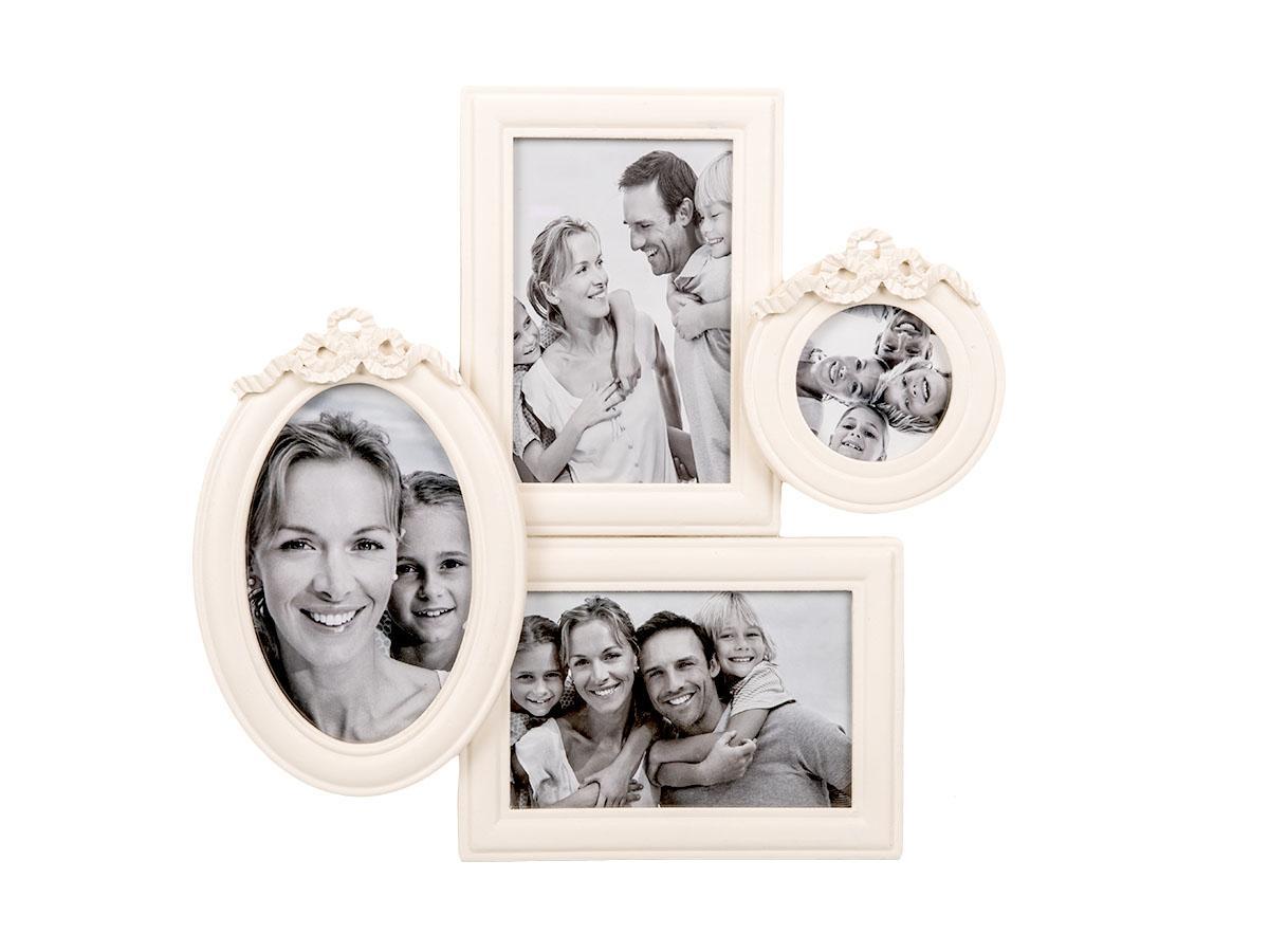 deinOyten.de - Bilderrahmen - Weiß - Galerierahmen für 4 Fotos ...