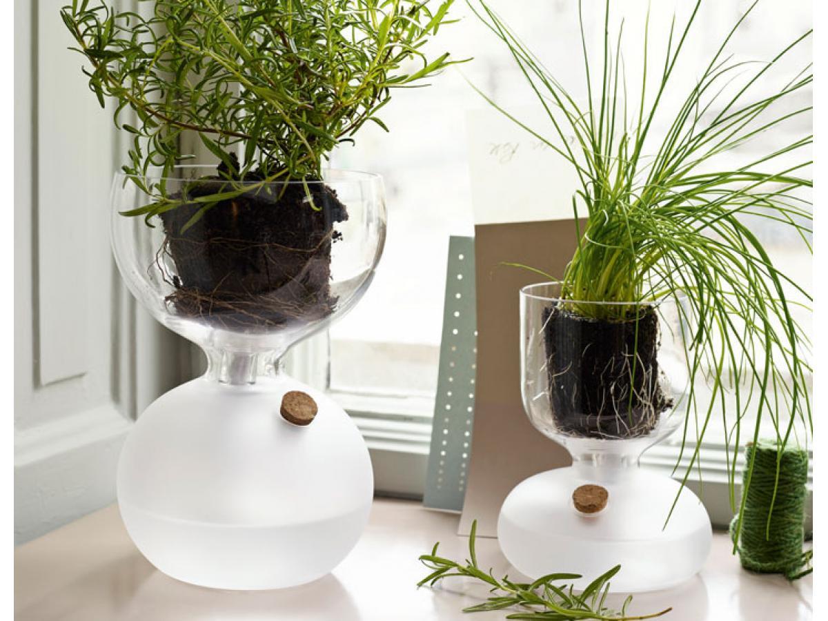 gew chshaus gaia gro h 24 x 21 5 cm von holmegaard stilbegeistert. Black Bedroom Furniture Sets. Home Design Ideas